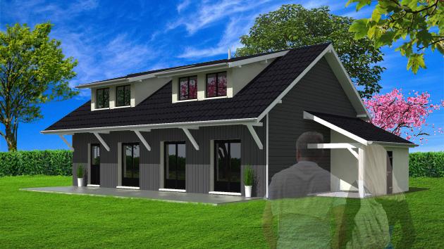 images 3d de vos projets immobiliers. Black Bedroom Furniture Sets. Home Design Ideas