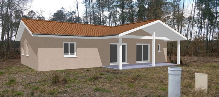 Exemples de r alisations for Permis construire maison individuelle